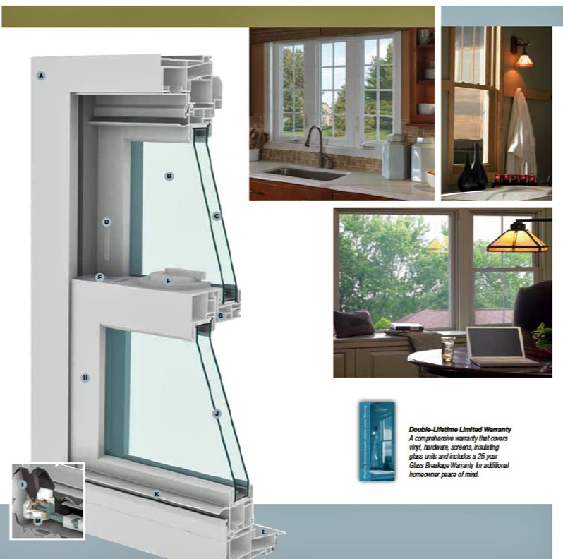 Simonton Vinyl Replacement Windows Cypress TX​